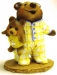 BB-10 yellow Nightie Bear