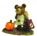 BB-15 lime green Halloween Fairy Bear